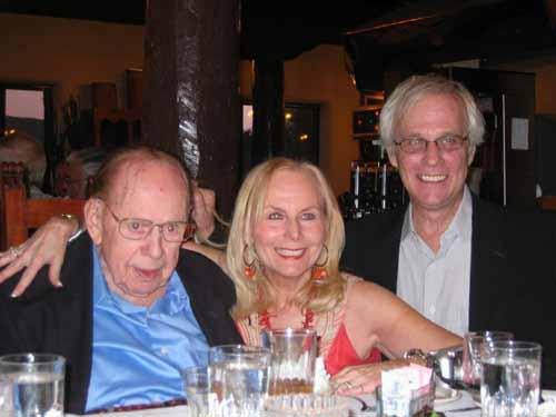 Floyd Risvold, Diane Pearson, Richard Frajola at Taos Philatelic Rendezvous 2008