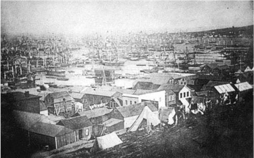 San Francisco in October, 1849