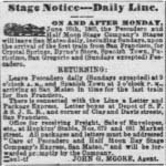 Aug 12, 1865 advertisement from the San Francisco Daily Alta California.