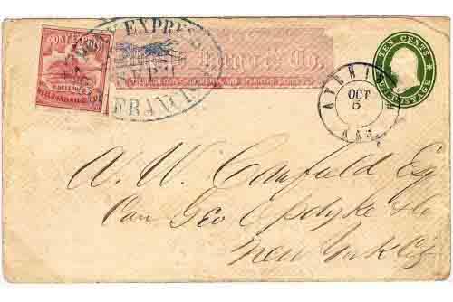 11 September 1861 San Francisco by Pony Express