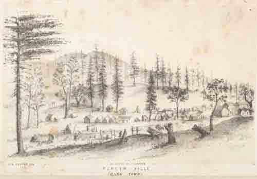 Placerville (Hang Town) in 1852