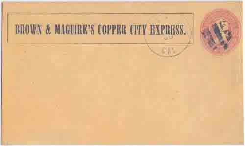Brown & Maguire's Copper City Express to Red Bluff