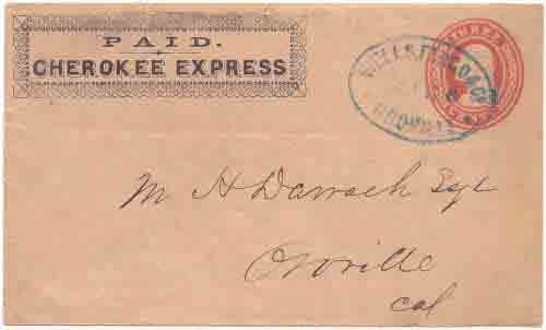 Cherokee Express from Cherokee to Oroville