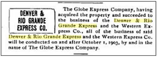 From the Express Gazette, Volume 28 (1903)