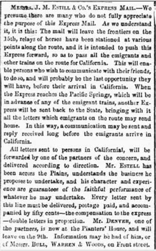 St. Louis Daily Missouri Republican May 7, 1850