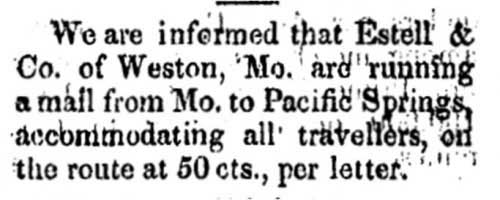 Salt Lake City Deseret News Jul 15, 1850