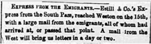 St. Louis Daily Missouri Republican Aug 9, 1850