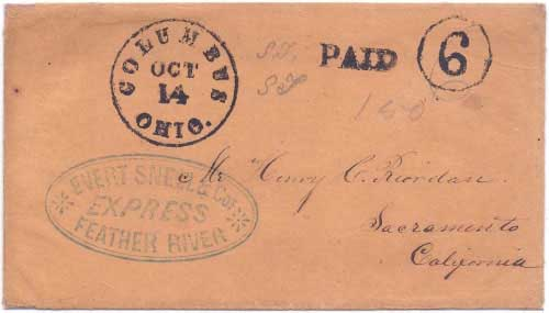 Evert Snell & Cos. Feather River to Spanish Flat