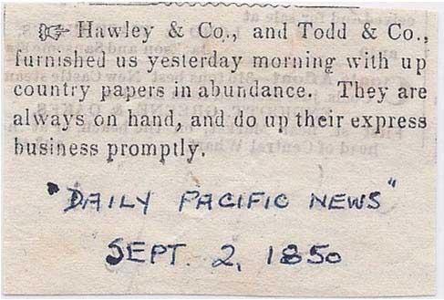 San Francisco Daily Pacific News Sep 2, 1850