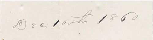Dateline Dec 10th, 1860