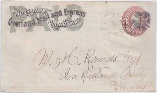 Holladay Overland Mail and Express Company to Omaha