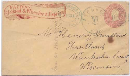 Holland & Wheeler's Express to Marysville