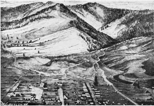 Early sketch of Yreka
