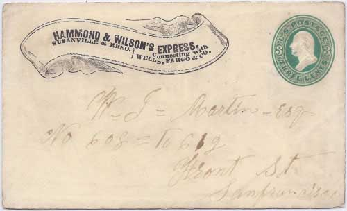 Hammond & Wilson's Express to Susanville