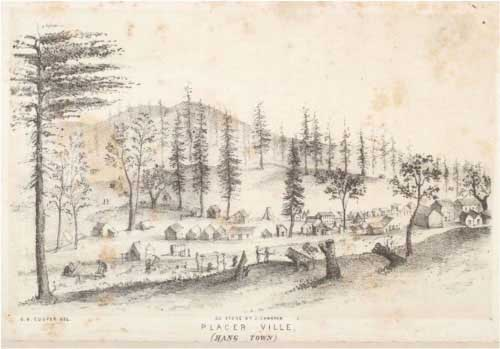 Placerville (Hangtown) in 1852