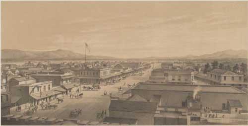 San Jose in 1858