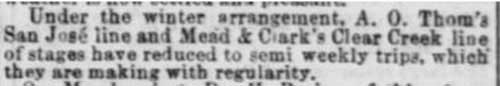 San Francisco's Daily Alta California article of Jan 18, 1867