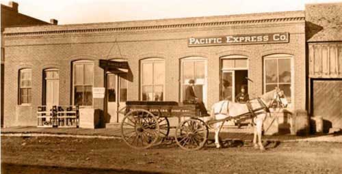 Pacific Express Co. Building