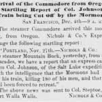 Sacramento Daily Union article of Dec 5, 1857