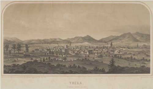Yreka in 1856