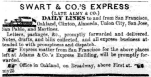 Aug 3, 1854 Daily Placer Times and Transcript