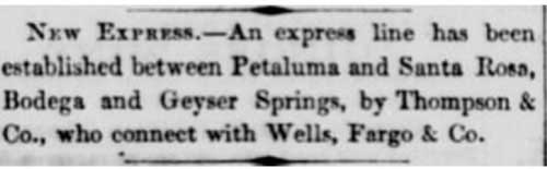 San Francisco Daily Alta California ad of Jul 11, 1857