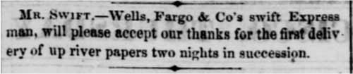 Feb 22, 1855 Sacramento Daily Union Article