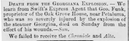 Nov 28, 1855 Sacramento Daily Union Article