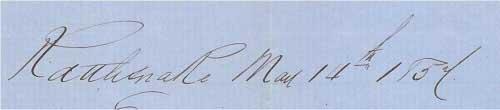 Dateline: Rattlesnake Mar 14th 1854