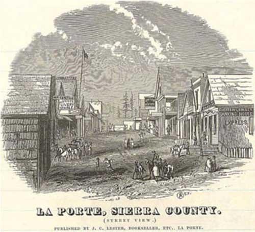 La Porte, Sierra County