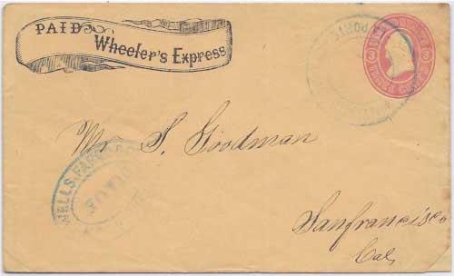 Wheeler's Express La Porte to Marysville