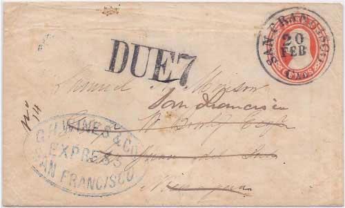 G. H. Wines & Co. Express San Francisco to San Juan del Sur, Nicaragua