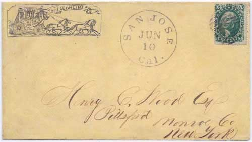 Carson Valley, U.T. Aug 17 (1859) to Middletown, R. I.