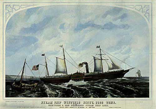 Image of the Steamer Winfield Scott
