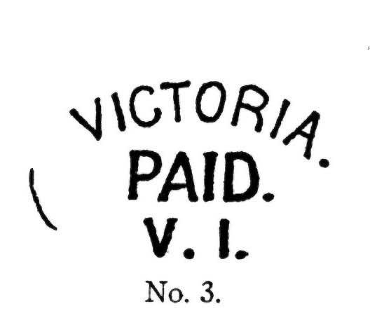 BC/VI Handstamps No. 3.