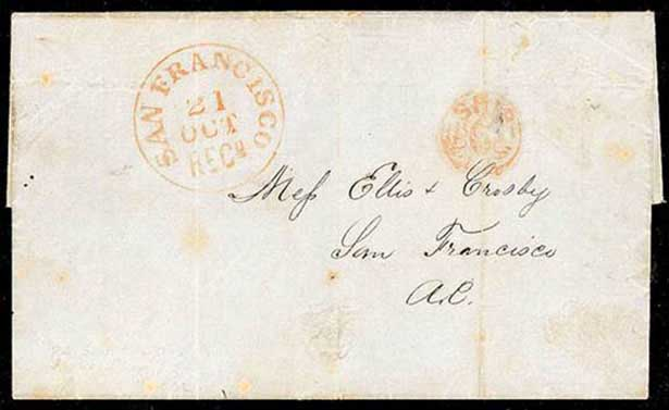 Sep 1850 Letter From Honolulu