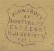 Genuine Hunter Express Handstamp