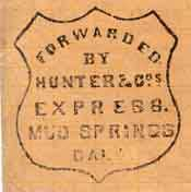 Fake Hunter Express Handstamp