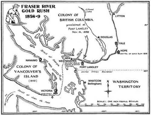 Figure 1. Map of British Columbia and Vancouver Island.