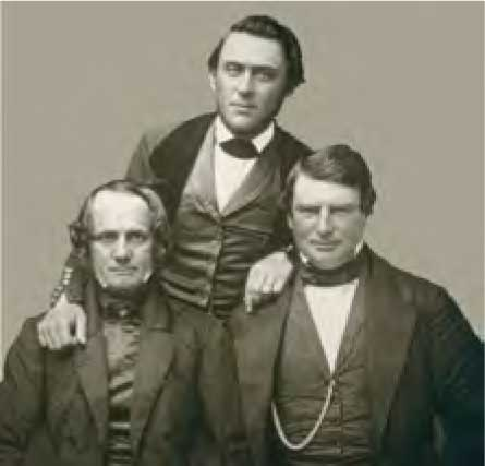 Samuel Brannan (center) and the Gold Rush, 1846-1851 (photograph with Thomas Larkin and William Howard)