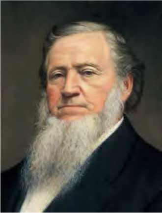 Brigham Young, Leader of Mormon Church