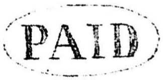 Fig. 5. Virtually identical handstamps were used at New Westminster, Yale, Hope, and possibly other offices as well.