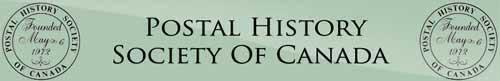 Postal History Society Of Canada