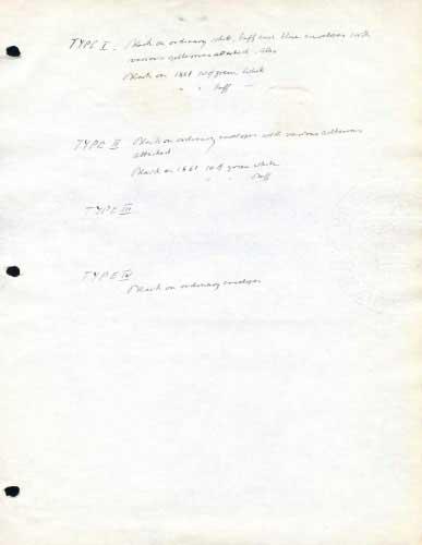 Barnard's Express, Notes On Frank Types