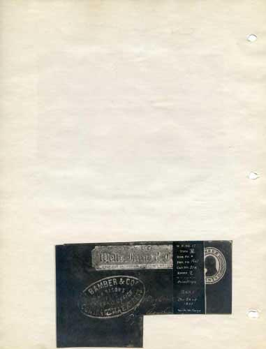 Bamber Express, Hand Stamps On Freeman Envelope