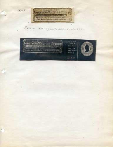 American (Livingston Fargo) Express, Franks