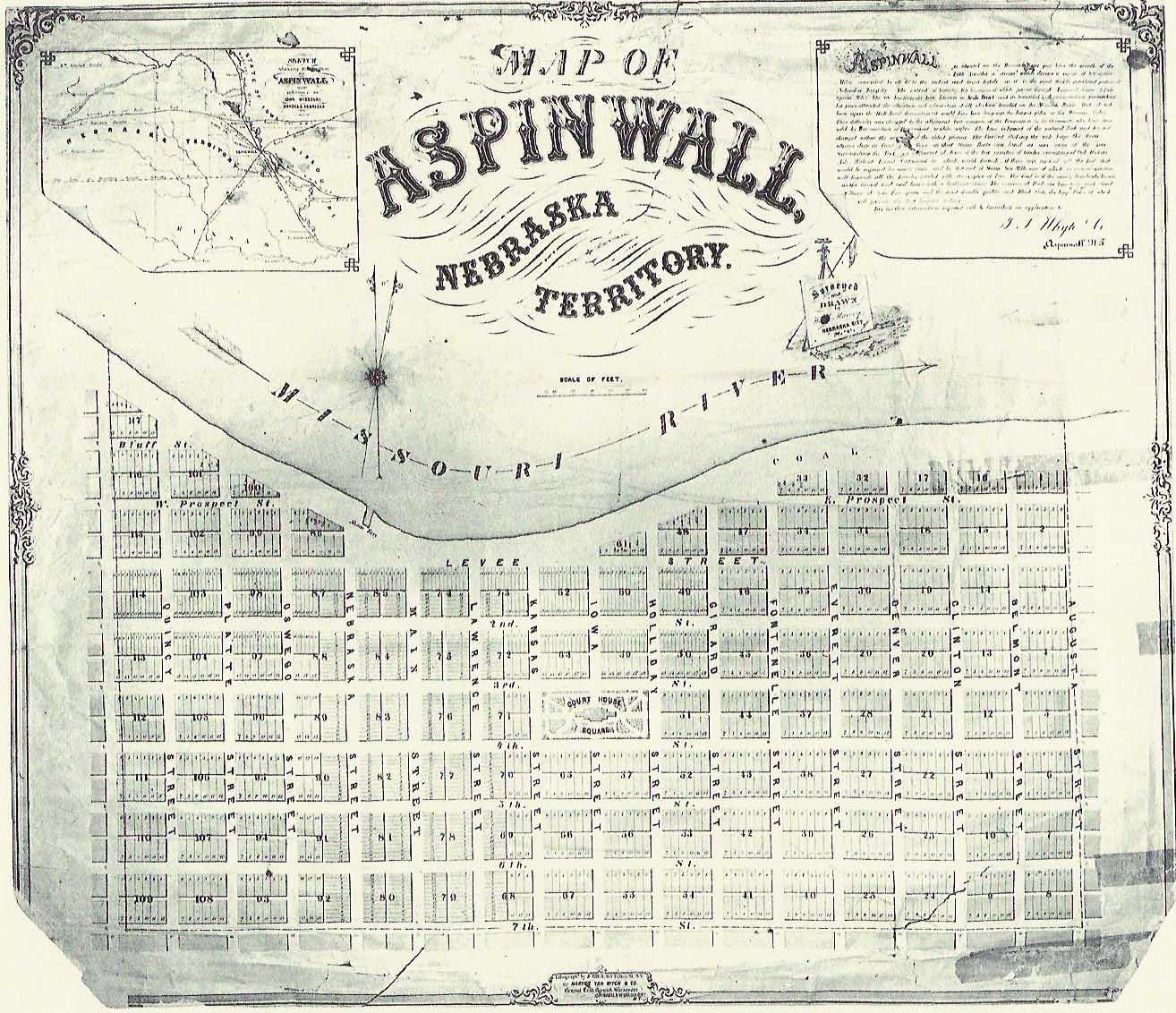 Aspinwall Map