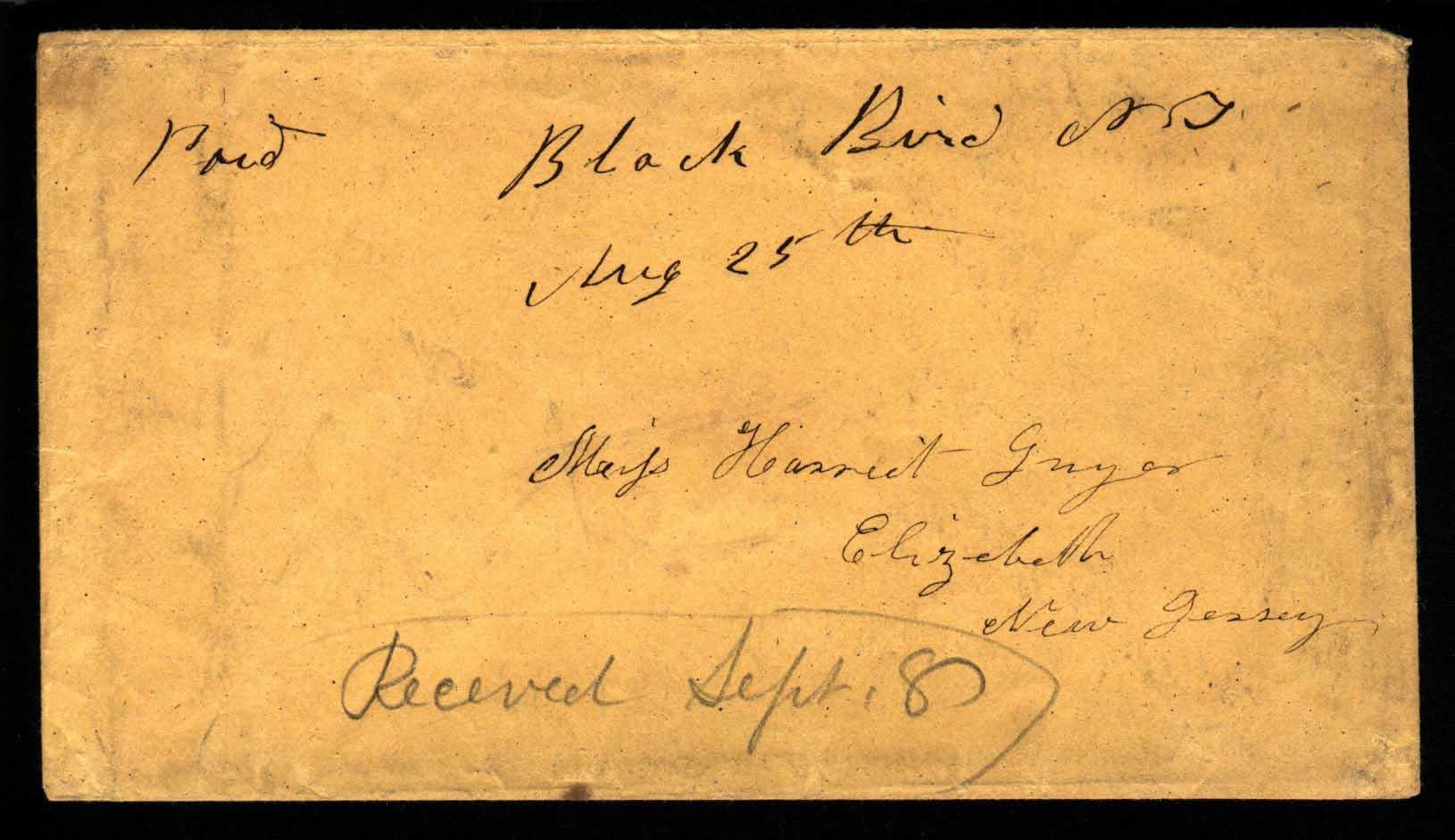 BlackBird 1857 08 25