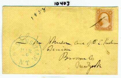 Brownsville 1858 03 30