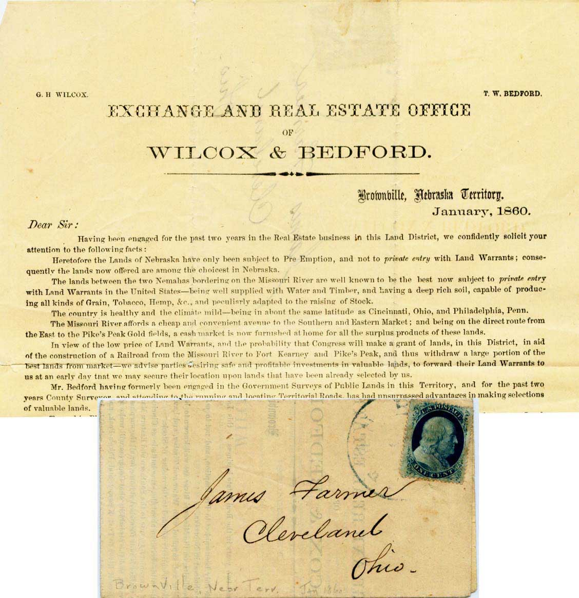 Brownville 1860 Xx Xx Circular